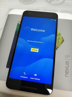 Google Nexus 6p 32gb-aluminio (desbloqueado)
