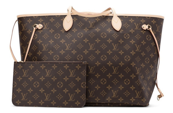 Neverfull Louis Vuitton Couro Legítimo Italiana C/código Gm