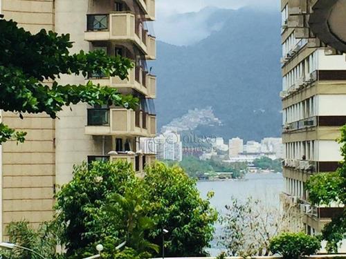 Apartamento Com 3 Dormitórios À Venda, 90 M² Por R$ 1.450.000,00 - Lagoa - Rio De Janeiro/rj - Ap6813