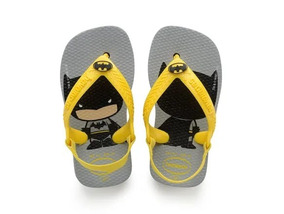 Chinelo Havaianas New Baby Herois Batman - Ref. 26490-2