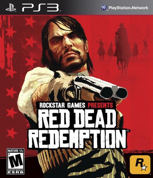 Red Dead Redemption - Psn Ps3 Pronta Entrega