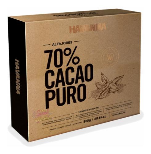 Imagen 1 de 5 de Alfajores Havanna 70% Cacao X9u - Oferta En Sweet Market