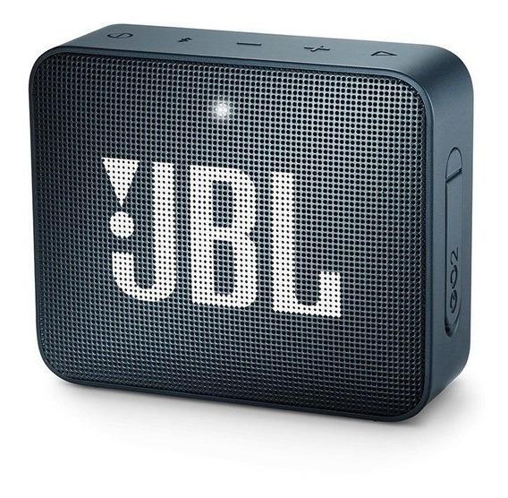 Caixa De Som Bluetooth Jbl Go 2 Azul Jblgo2blu - Jbl