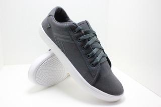 Zapatillas Urbanas Diseño En Telalona Skate Gris 38/44