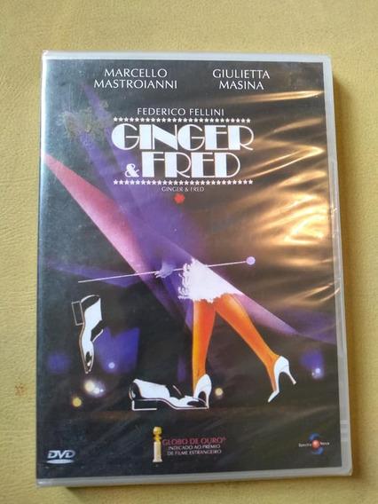 Dvd Ginger & Fred - Federico Fellini - Mastroianni E Masina