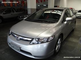 Honda Civic 1.8 Lxs Flex Aut. 4p Completo, Impecável /2008