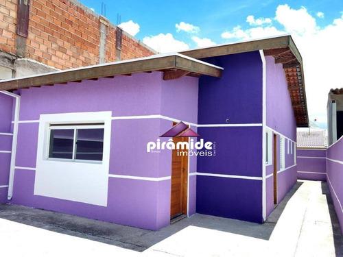 Casa Com 3 Dormitórios À Venda, 80 M² Por R$ 290.000,00 - Jardim Santa Luzia - São José Dos Campos/sp - Ca4910