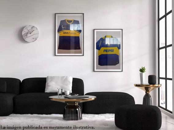 Cuadro Recuadro Boca Camiseta 2012 Original Decoracion Pared