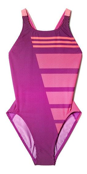 Traje De Baño adidas Mujer Morado Inf Cb 1pc Ay2803