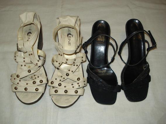 Sandalias En Buen Estado X2