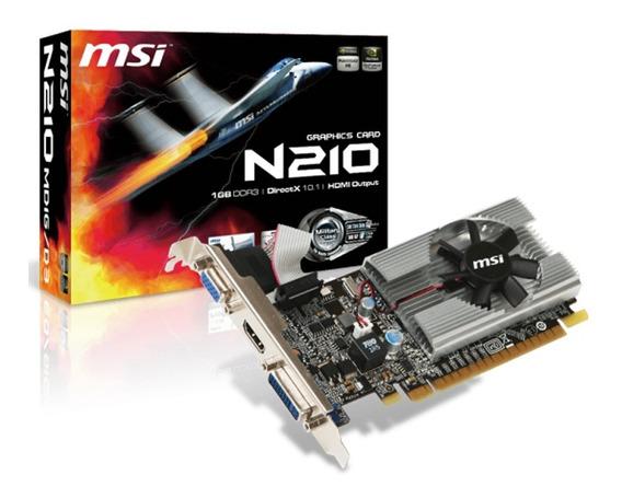 Placa Video Geforce Msi G210 1gb Ddr3 Hdmi Vga 1