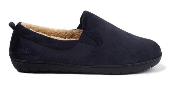 Pantuflas Dockers Para Caballero Color Azul Oscuro Casuales