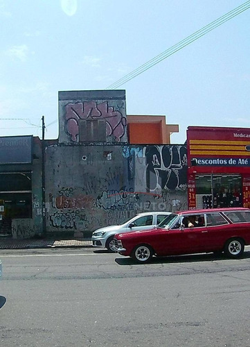 Excelente Ponto Comercial Com Grande Fluxo De Pedestre E Veículos,  Com 80 M² - Centro - Santo André/sp - Sl0061
