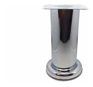 Pata Para Muebles De 12 Cm Tubular Cromo Envío Full!