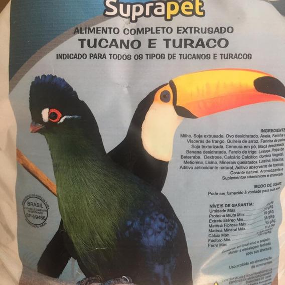 Ração Para Tucanos E Turacos Mais Pote De Porcelana