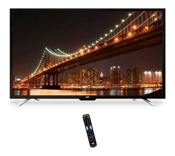 Tv Led De 32 Jvc Hd + Conv. Digital