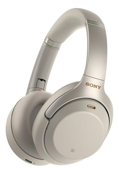 Headphone Sony Wh-1000xm3 Com Noise Cancelling Prata