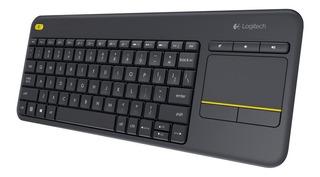 Teclado Mouse Touchpad Inalambrico Logitech K400 Plustv