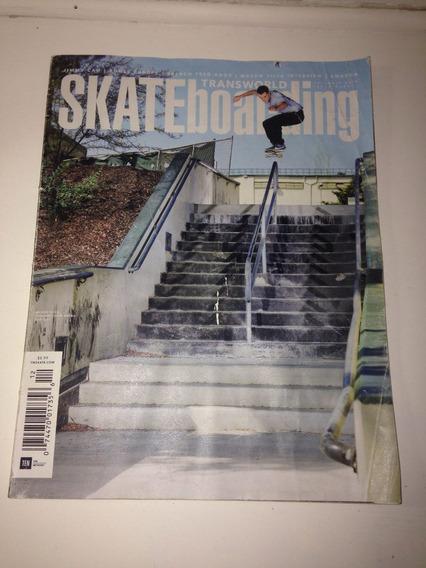 Revista Transworld Skateboarding Dez 2016 C 106 Pgs R$26,99