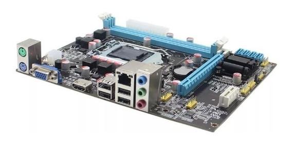 Placa Mãe Intel - H61 1155 I3, I5 E I7 2° E 3° Nova Na Caixa