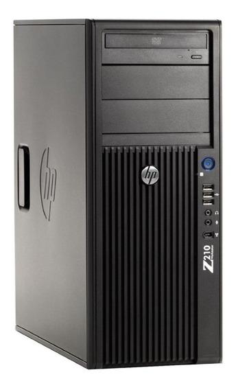 Workstation Hp Z210 Processador E3 1240 8gb Ram 2x Hd 500gb