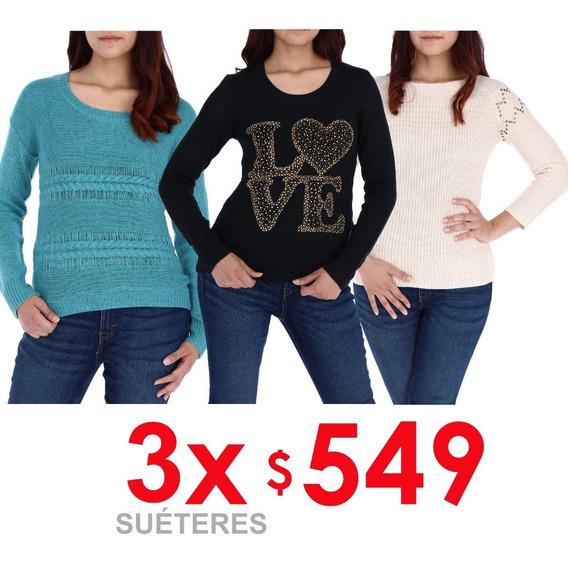 Promoción 3 Suéteres A Precio Especial Up To Be Slml419639