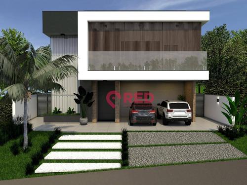 Imagem 1 de 30 de Sobrado Com 4 Dormitórios À Venda, 360 M² Por R$ 2.950.000,00 - Alphaville Nova Esplanada Iv - Votorantim/sp - So0350