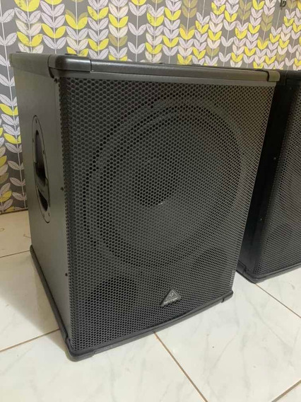 Subwoofer Ativo Behringer B1800xp 3000watts/rms P Ms