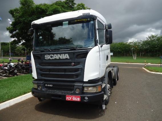 Scania G 440 6x4 2015 -boogie Pesado C/ Over Drive, Retarder