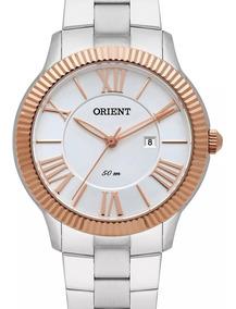 Relógio Orient Feminino Ftss1108 S3sx Prateado Com Nota