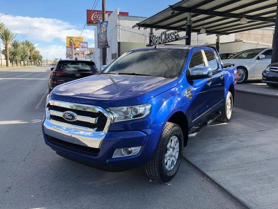 Ford Ranger Xlt Diesel 2017 Azul Estelar