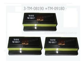 03 Trafo Inversor Tm09180 Tm-08190 Frete Gratis