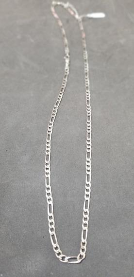 Corrente Prata 925 60cm 3x1 13 Gramas