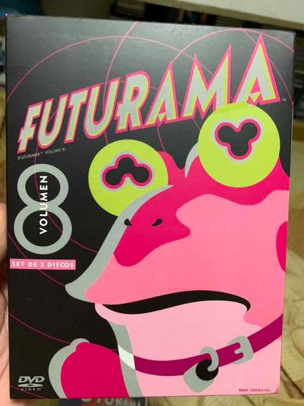 Dvd Futurama Volumen 8