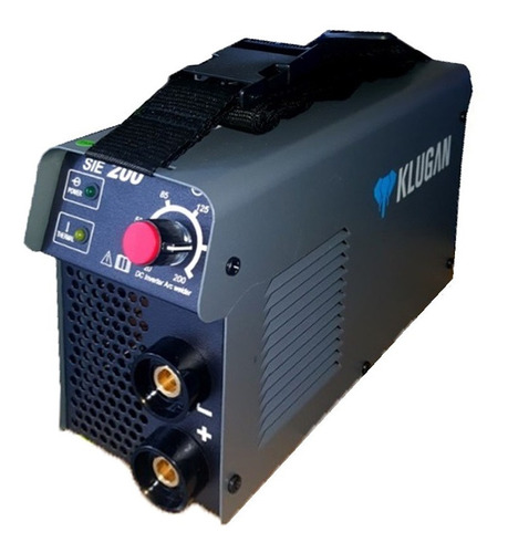 Klugan Sie200 Soldadora Inverter 20 -200 Amp Turbo Ventilada