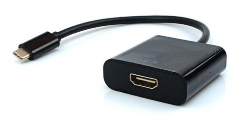 Cabo Adaptador Usb Tipo C Para Hdmi 4k - Macbook