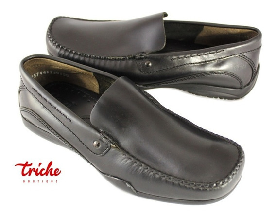 Calzado Caballero Negro Flexi 62701 Mocasín Confort Casual