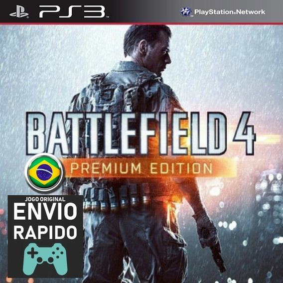Battlefield 4 Bf4 Premium + Todas As Dlcs Jogos Ps3 Original