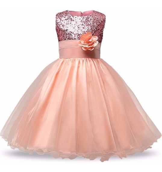 Hermoso Vestido Para Nena Envio Inmediato