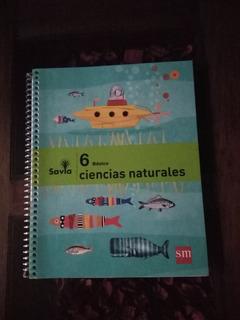 Libro Ciencias Naturales 6° Básico Sm Proyecto Savia