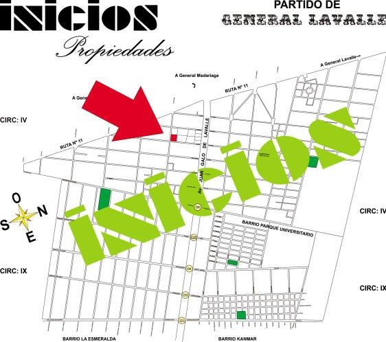 Chacra En Barrio La Esmeralda. Pavon (b350) !!