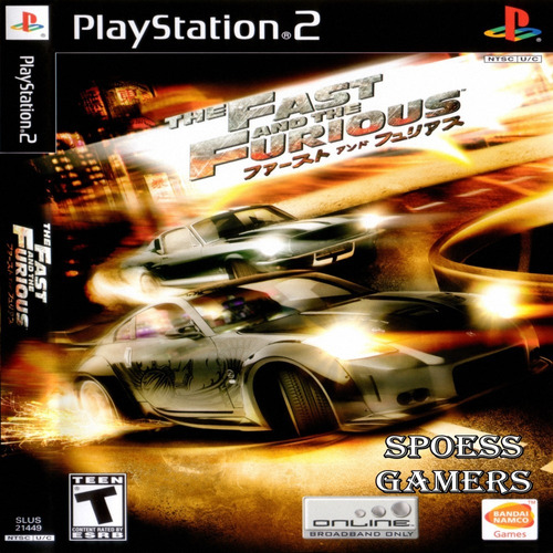 Fast And The Furious, The Velozes E Furiosos Ps2 Patch Carro