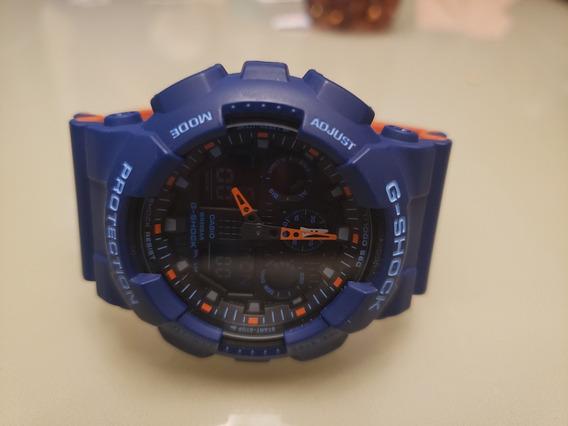 Reloj Casio Azul Naranja Modelo 5081