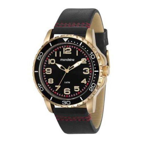 Relógio Dourado Mondaine Masculino 76710gpmvdh2 Com Nf