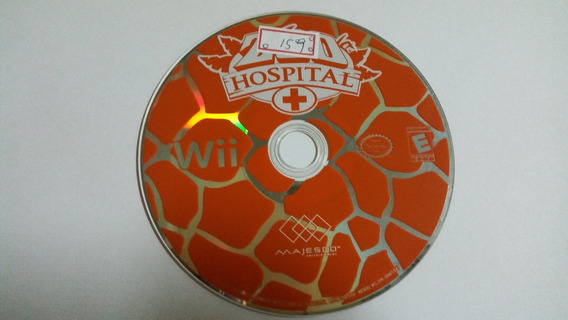 Nintendo Wii Zoo Hospital Original Americano Lote159
