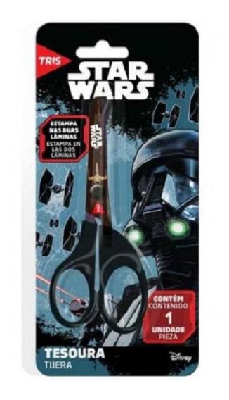 Tesoura Escolar 13cm Star Wars Filme 675084 Summit