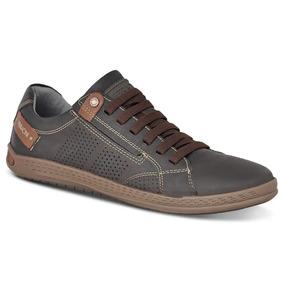 Sapato Sapatênis Ferracini Masculino Masseratti Café