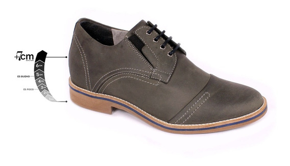 Zapato Casual Trend Petroleo Max Denegri +7cms De Altura-30%