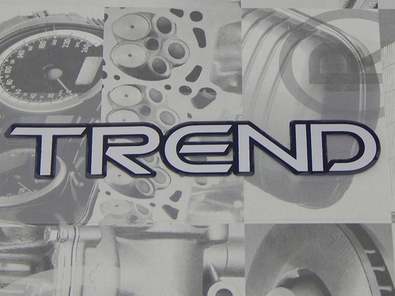 Adesivo Trend Fox Gol Parati Saveiro Space - 5w0853689f