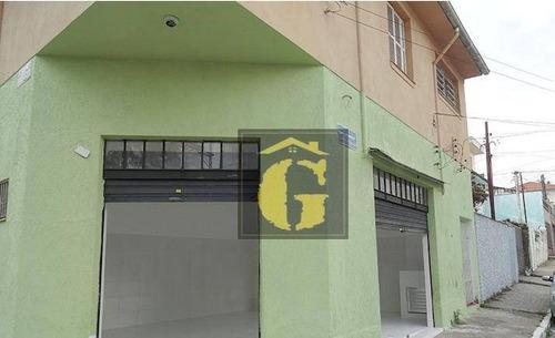 Imagem 1 de 6 de Salão Para Alugar, 40 M² Por R$ 1.200/mês - Vila Prudente - São Paulo/sp - Sl0064